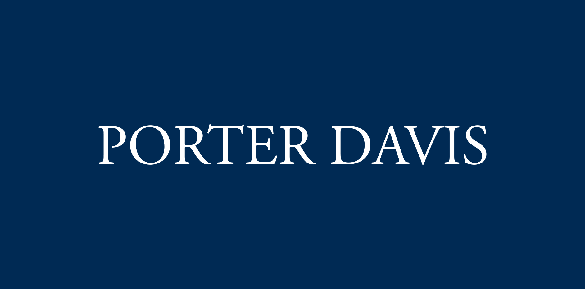 Logo for builder Porter Davis