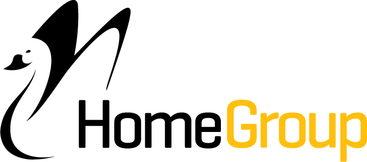 Logo for builder Home Group WA