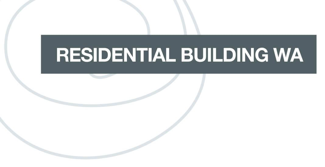 Logo for builder Residential Building WA