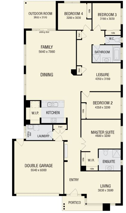 Zoomed-in floor plan image